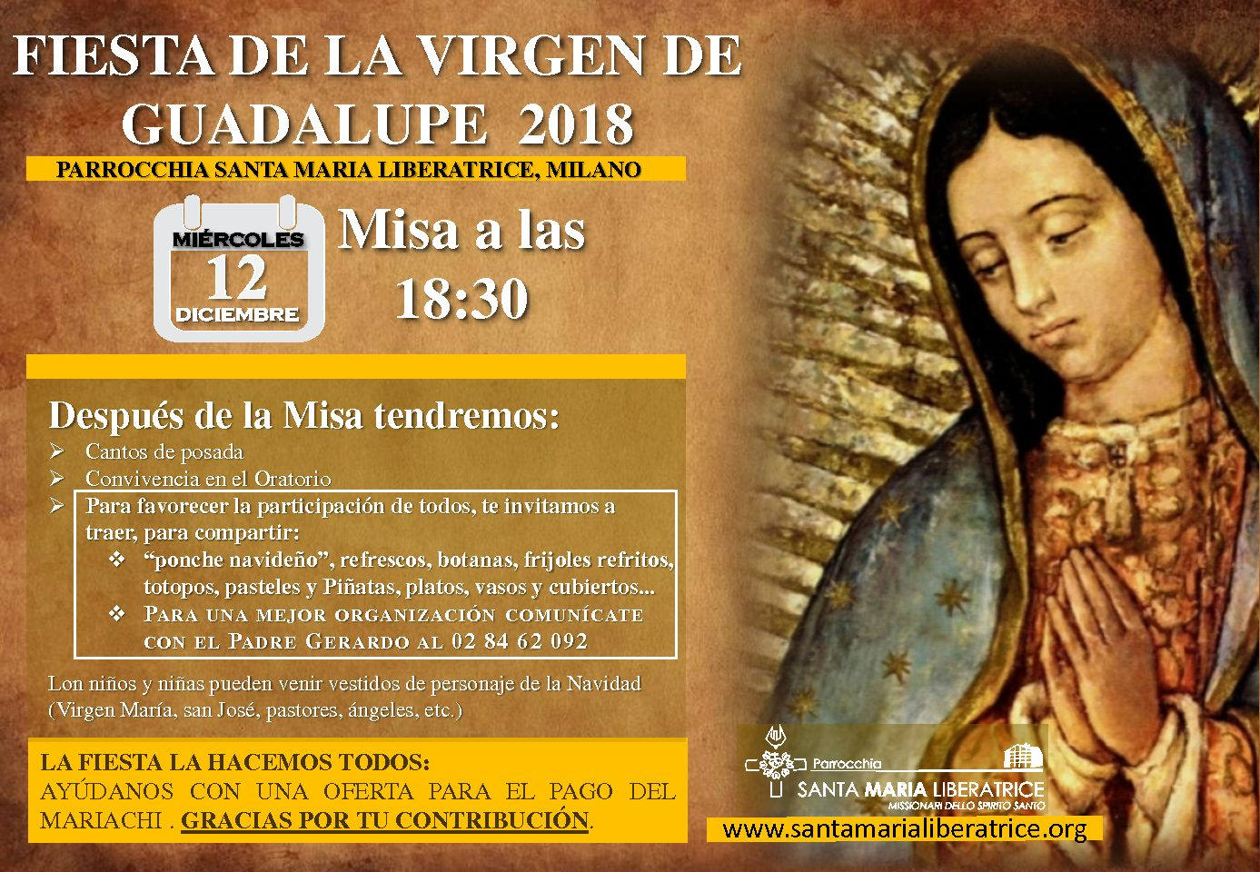 Fiesta de la Virgen de Guadalupe