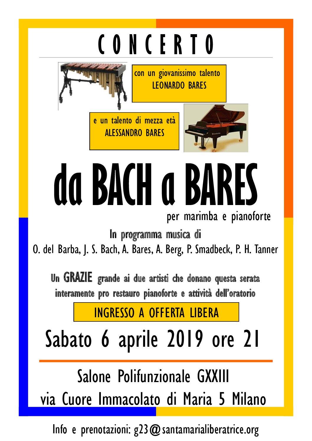 Concerto 6 aprile