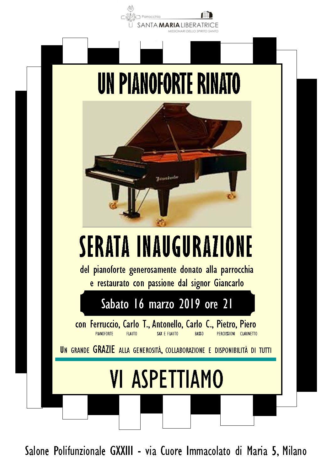 Un Pianoforte Rinato…