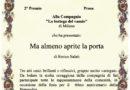 """Riconoscimento teatrale alla Compagnia """"La Bottega del Vasaio"""""""
