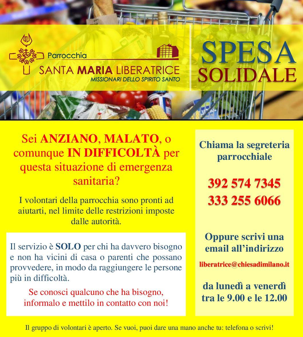 """Progetto """"Spesa solidale"""""""